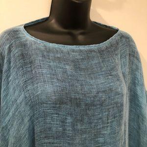 EUC Eileen Fisher modal/organic linen/silk sheer😍